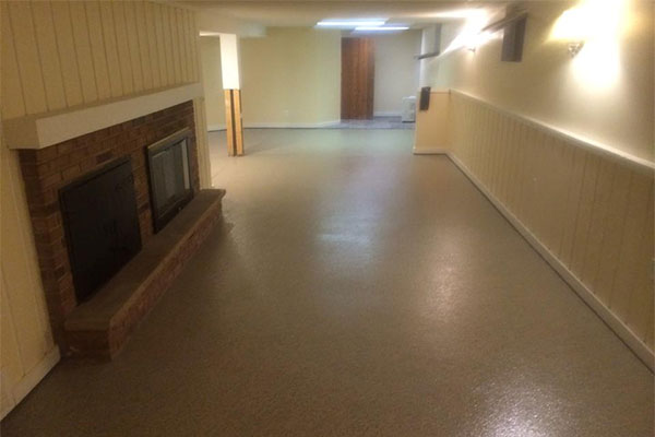 Basement Floors
