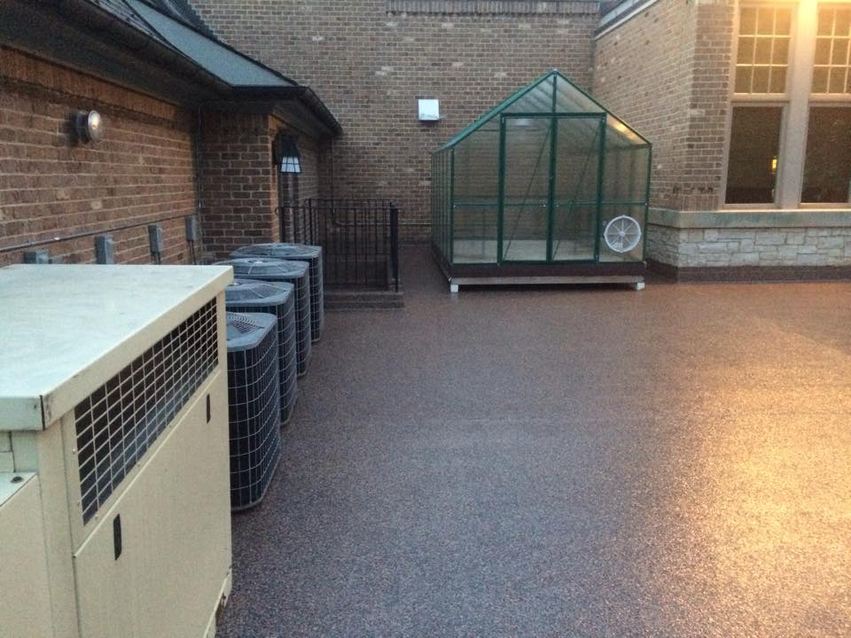 Consider American Garage Floor Systems Not Only For Your But Also Pool Decks Courtyards Basements And Showrooms